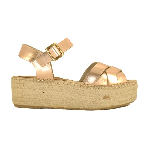 Sandalia Metalizado
